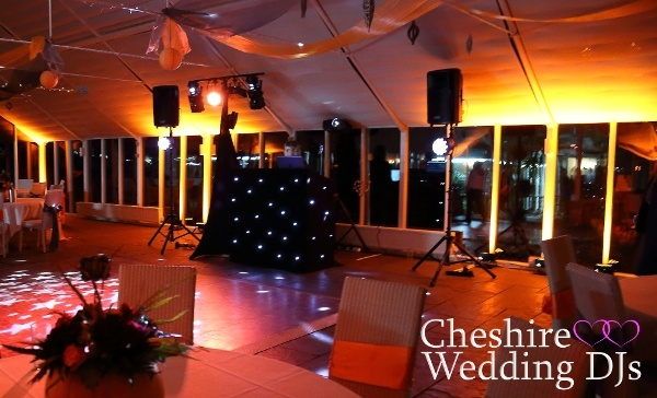 Cheshire Wedding DJs At The Abbeywood Estate