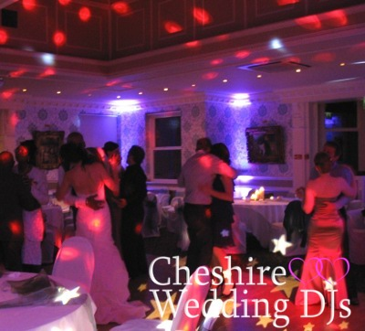 Cheshire Wedding DJs At Ashfield House