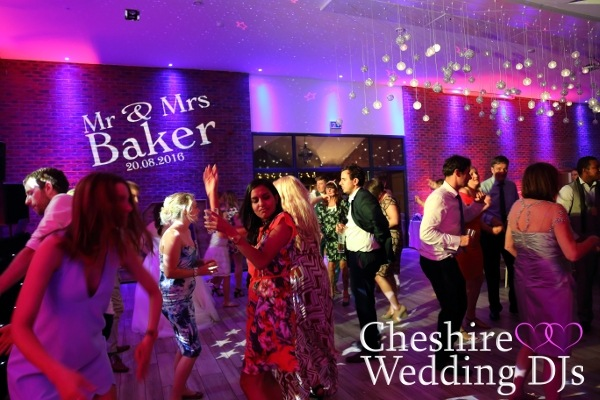 Cheshire Wedding DJs At Aston Marina