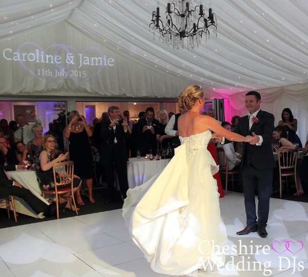 Cheshire Wedding DJs At Capesthorne Pavilion