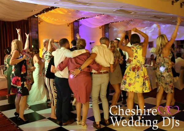 Cheshire Wedding DJs At Carden Park