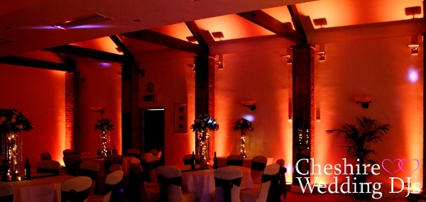 Cheshire Uplighting At Carden Park