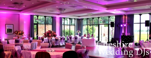 Cheshire Uplighting At Rookery Hall