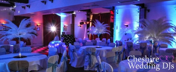 Cheshire Wedding DJ At Carden Park