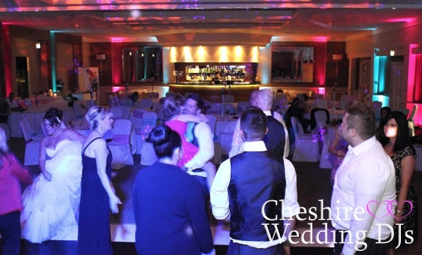 Cheshire Wedding DJ At The Mere