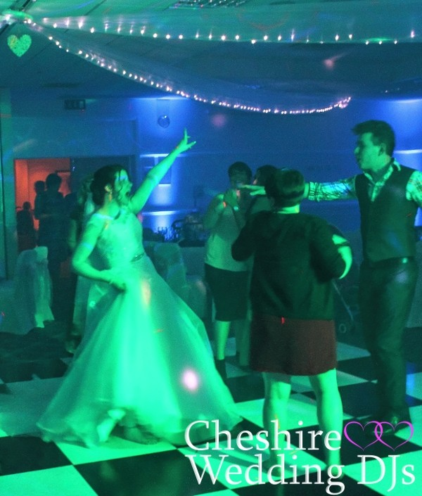 Cheshire Wedding DJ Cranage Hall