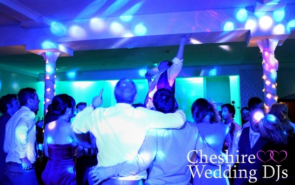 Cheshire Wedding DJ Hollin Hall