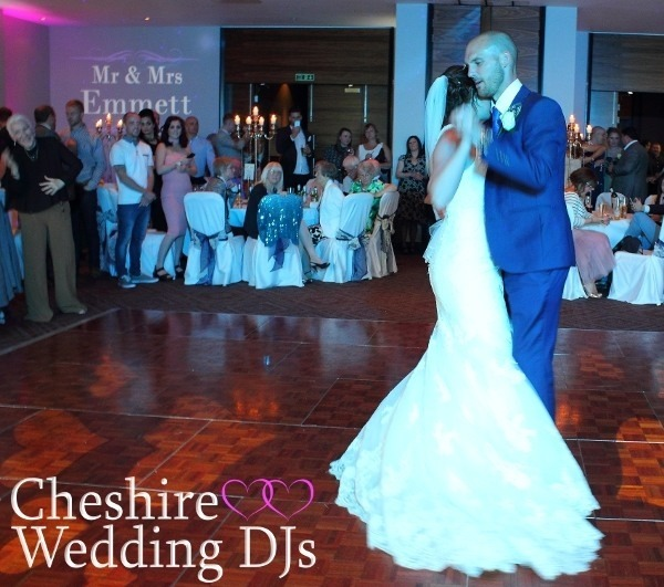 Cheshire Wedding DJ Rookery Hall