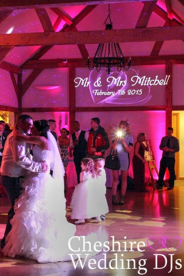 Cheshire Wedding DJ Sandhole Oak Barn