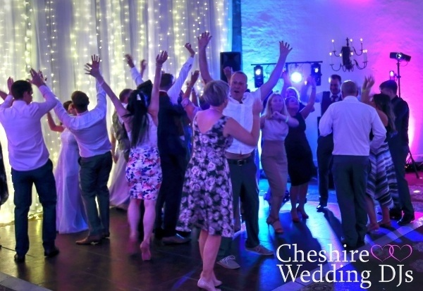 Cheshire Wedding DJ Tilden Suite
