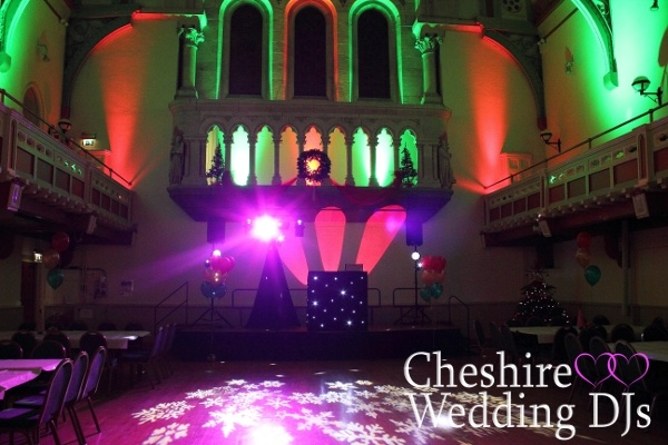 Cheshire Wedding DJs At Congleton Town Hall