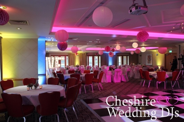 Cheshire Wedding DJs At Cottons Hotel