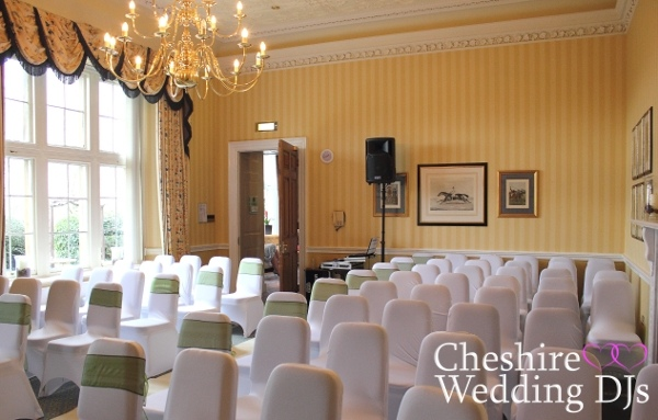 Cranage Hall Wedding Ceremony