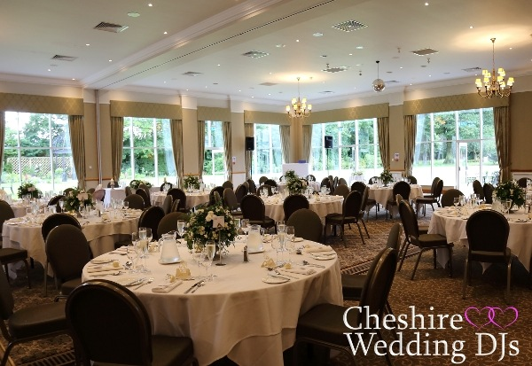 Craxton Wood Wedding Breakfast