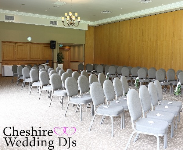Craxton Wood Wedding Ceremony DJ