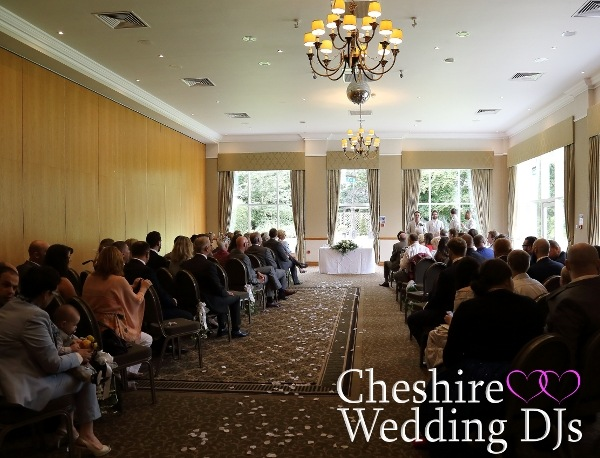 Craxton Wood Wedding Ceremony