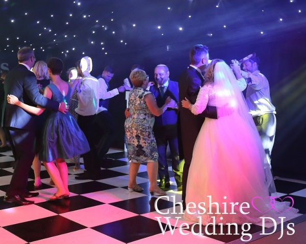 Cheshire Wedding DJs At Delamere Events