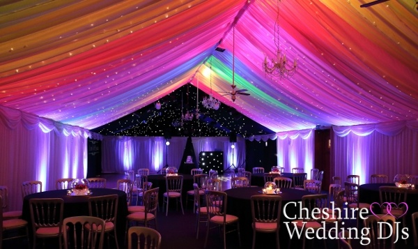 Cheshire Wedding DJs At Heaton House