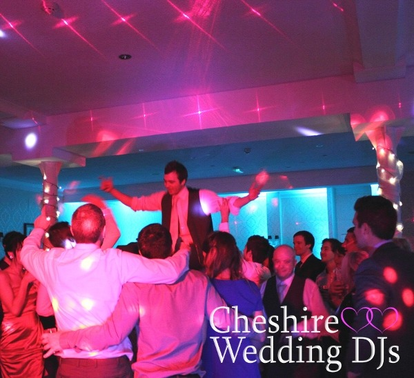 Cheshire Wedding DJs At Hollin Hall