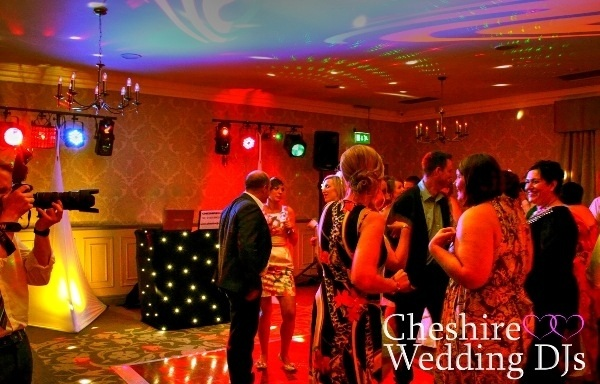 Cheshire Wedding DJs At Mottram Hall