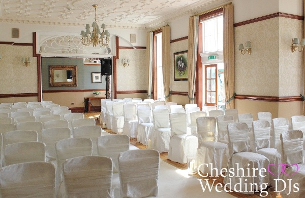 Nunsmere Hall Wedding Ceremony