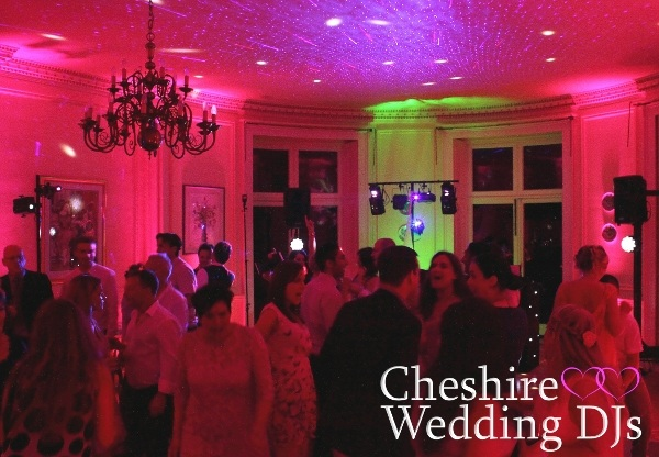 Cheshire Wedding DJs At Oakley Hall