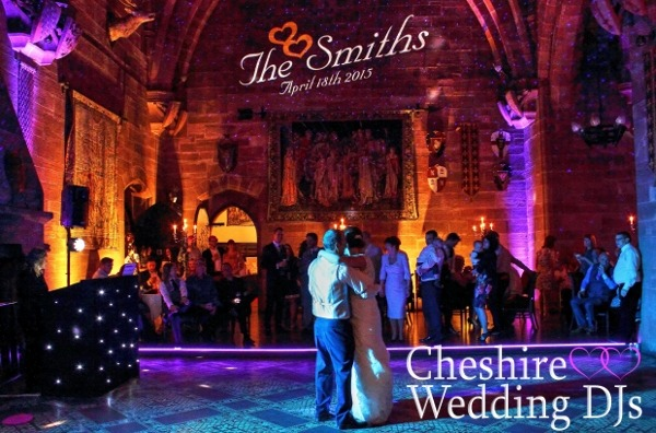 Cheshire Wedding DJs At Peckforton Castle