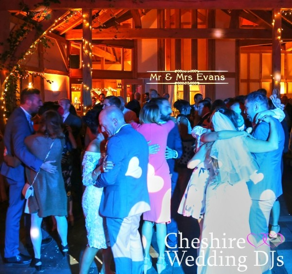 Cheshire Wedding DJs At The Oak Tree Of Peover