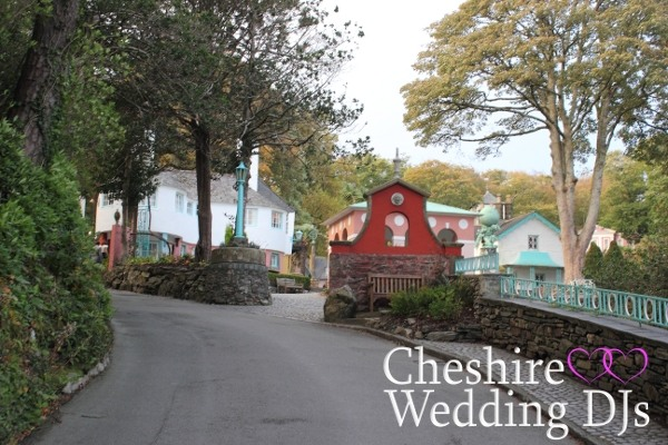 Cheshire Wedding DJs At Portmeirion