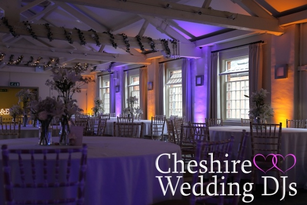 Cheshire Wedding DJs At Quarry Bank Mill