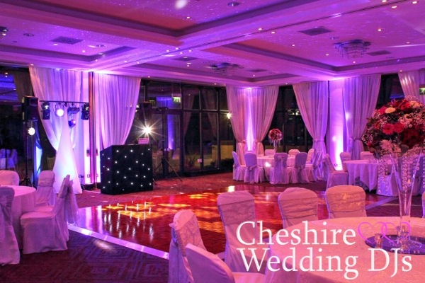 Rookery Hall Wedding Uplighting 2015
