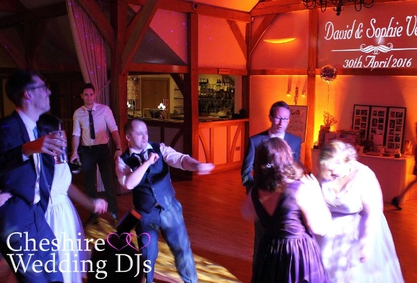 Cheshire Wedding DJs At Sandhole Oak Barn