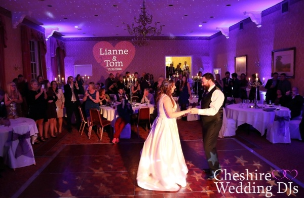 Cheshire Wedding DJs At Shrigley Hall