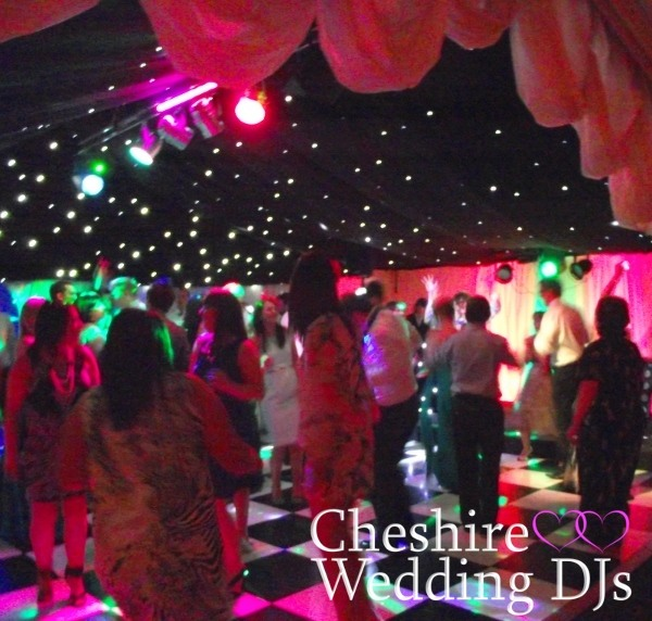 Cheshire Wedding DJs At Soughton Hall