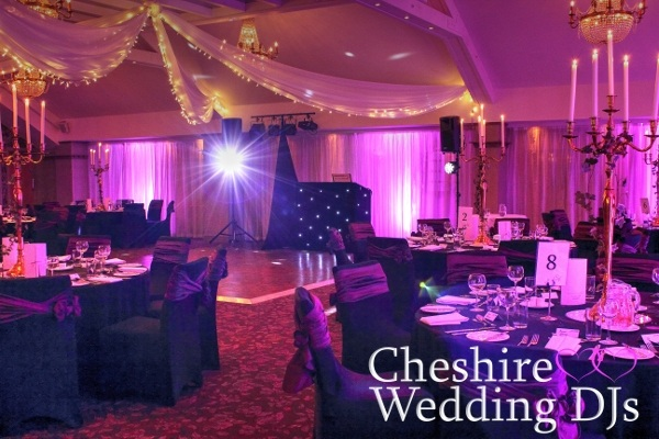 Cheshire Wedding DJs At Stanley House