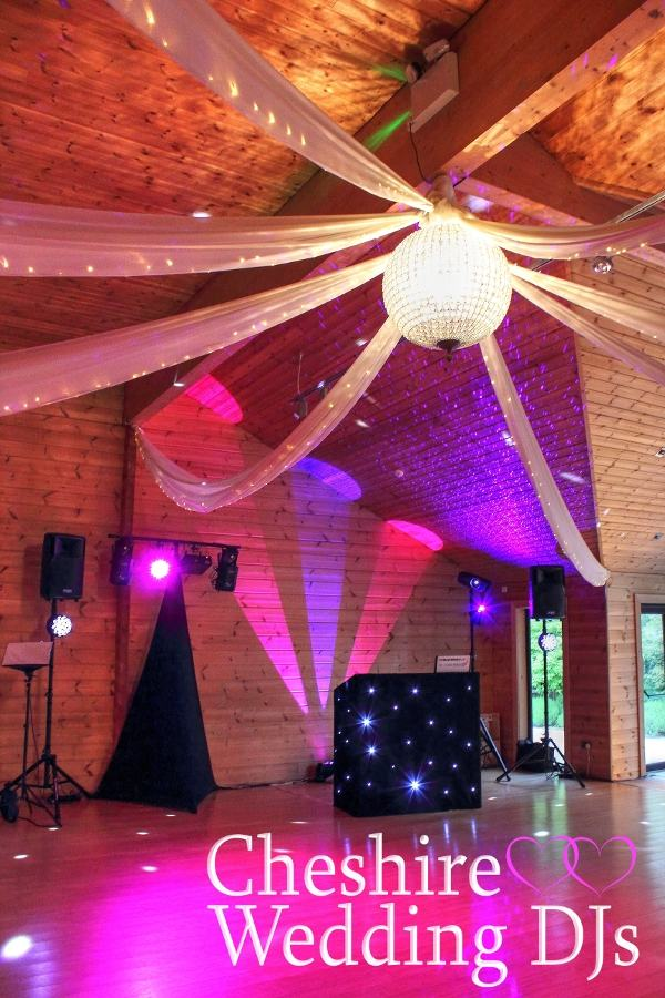 Cheshire Wedding DJs At Styal Lodge