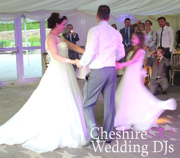 Cheshire Wedding DJs At The Inn At Whitewell