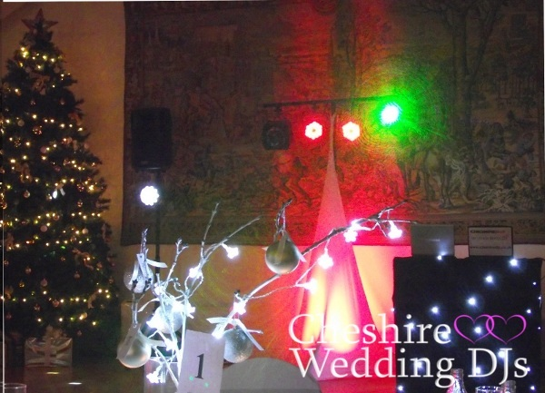 Cheshire Wedding DJs At Wrenbury Hall